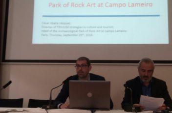 César Abella presentación proyecto Héctor